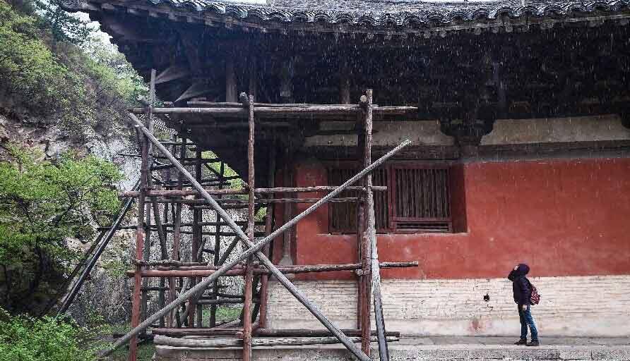 中国唐代木构建筑文化-唐代木结构建筑_木构建筑_木