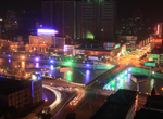 離石城市夜景