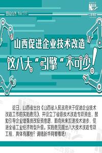 """【圖説】山西促進企業技術改造,這八大""""引擎""""不可少!"""