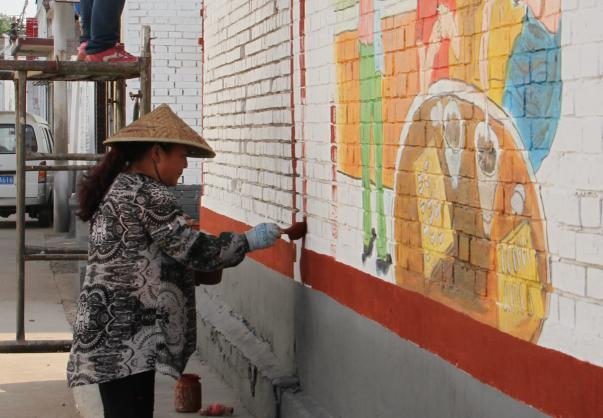 太谷:打造文化长廊 建设美丽乡村