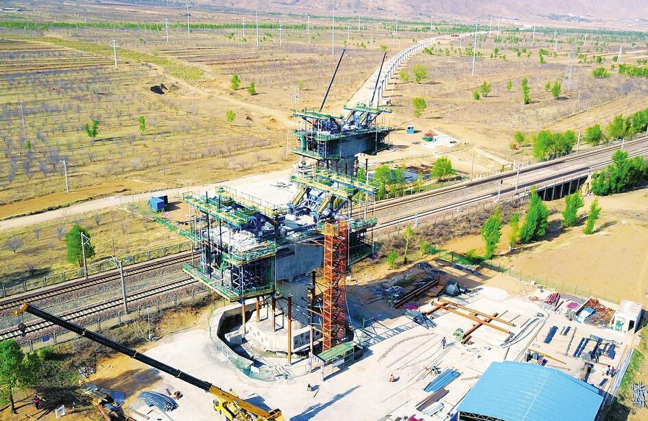 大張高鐵建設加速推進