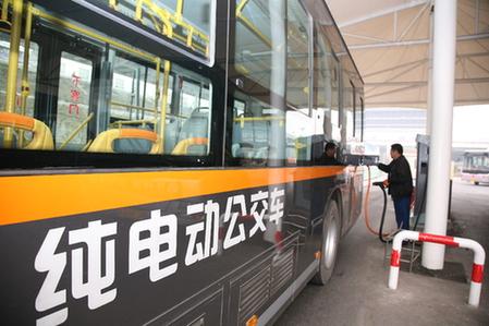 全國前列全省首家!臨汾市區公交車全換了純電動