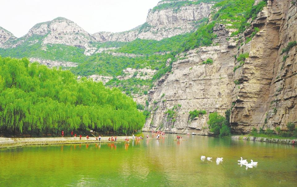汾河二庫全力打造特色旅遊景區
