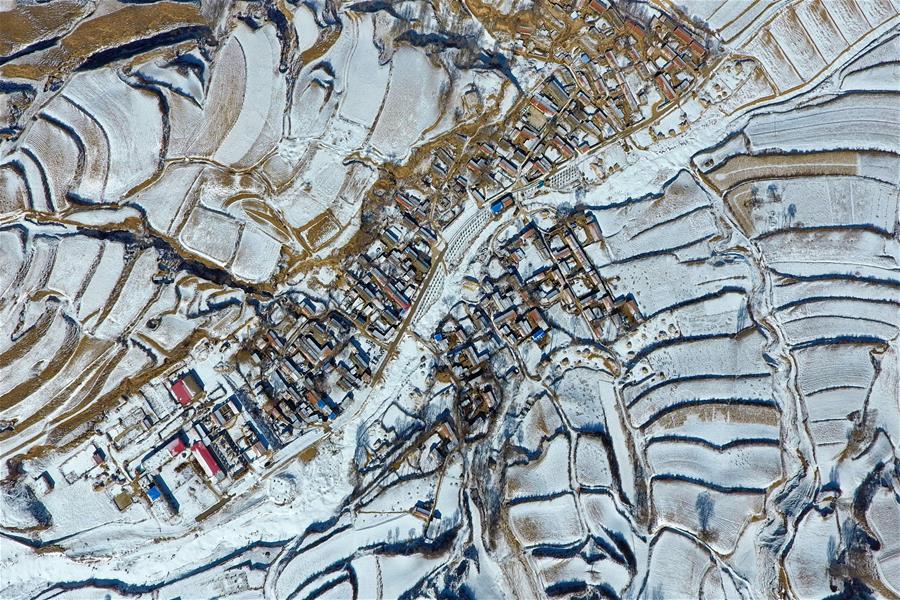 黃土高原的美麗村落