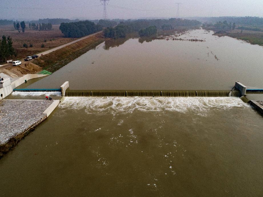 汾河流域中遊核心區幹流蓄水