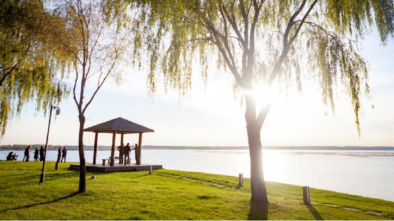 初冬的長治國家城市濕地公園