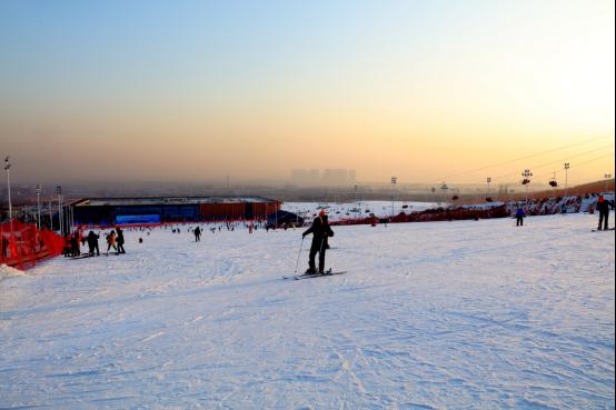 雪场再次秀出大同文化旅游新姿势