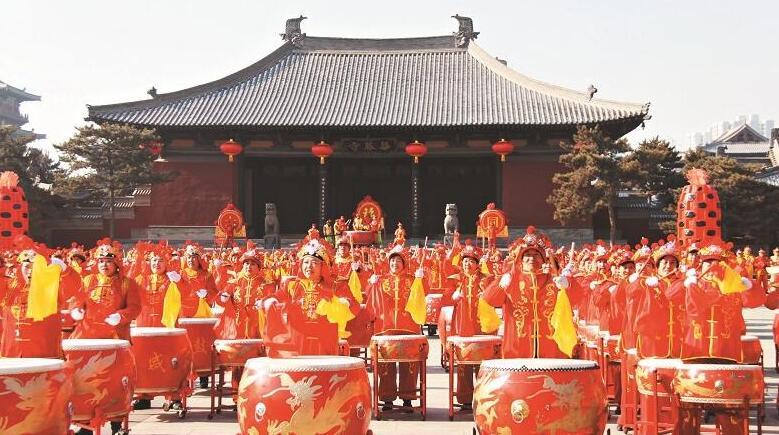 古城大同賀新春