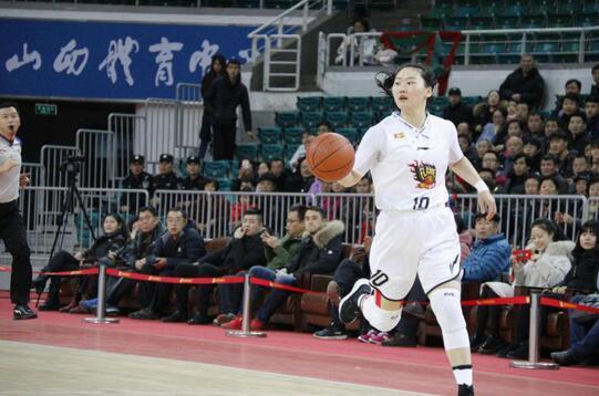 山西女籃獲WCBA常規賽第三名