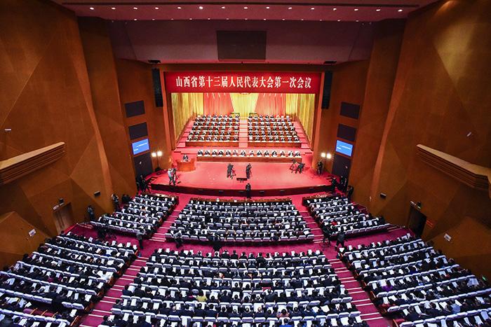 新華網VR視角帶你參加山西省十三屆人大一次會議