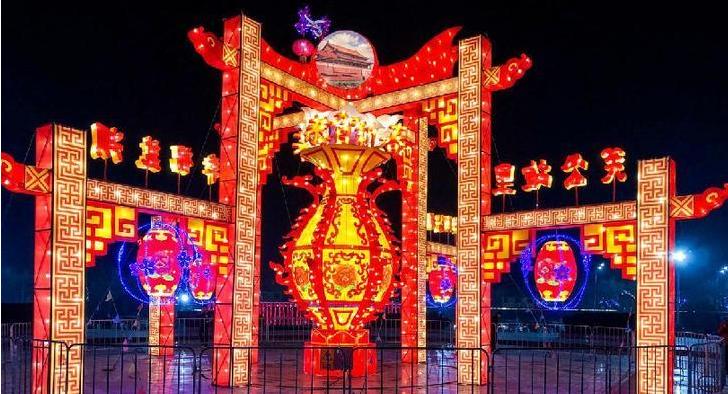 """十余场灯会蓄势待""""展"""" 运城旅游""""春节档""""即将开启"""
