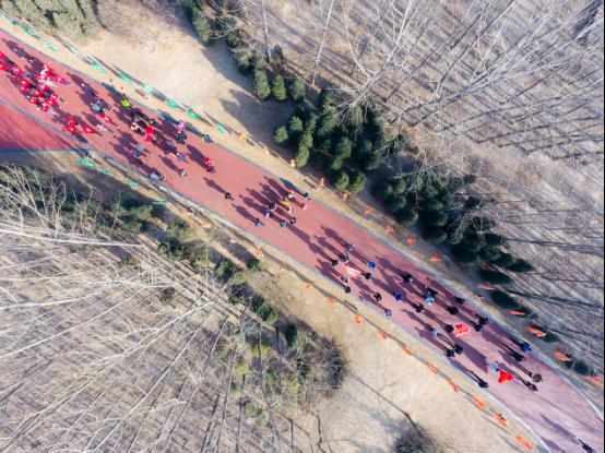 臨汾市舉辦萬人健步走活動為旅發大會助力