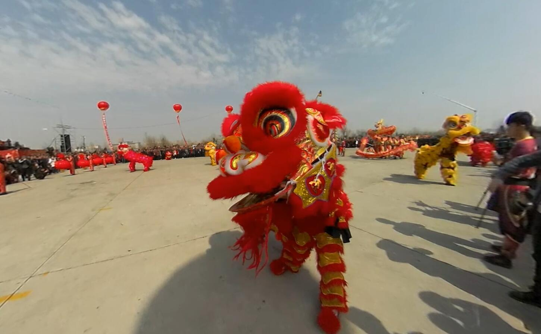 新華網VR視角為你留住河津的春節記憶