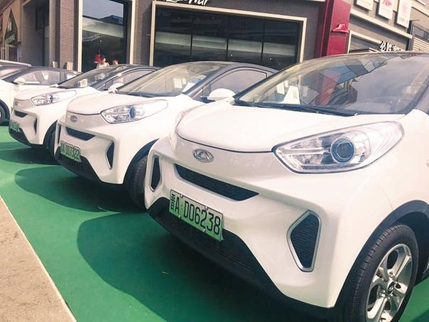 300輛共享新能源汽車亮相太原街頭