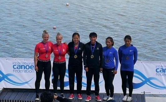 女子划艇世界杯 太原名将马亚男拿下双冠