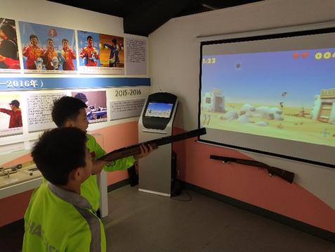 山西体育博物馆国防科技体育厅揭幕