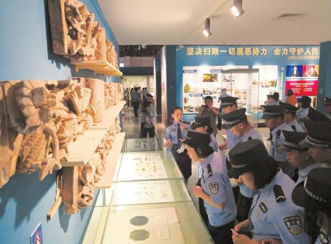 山西警方展出追回4431件珍貴文物 多為商周青銅器