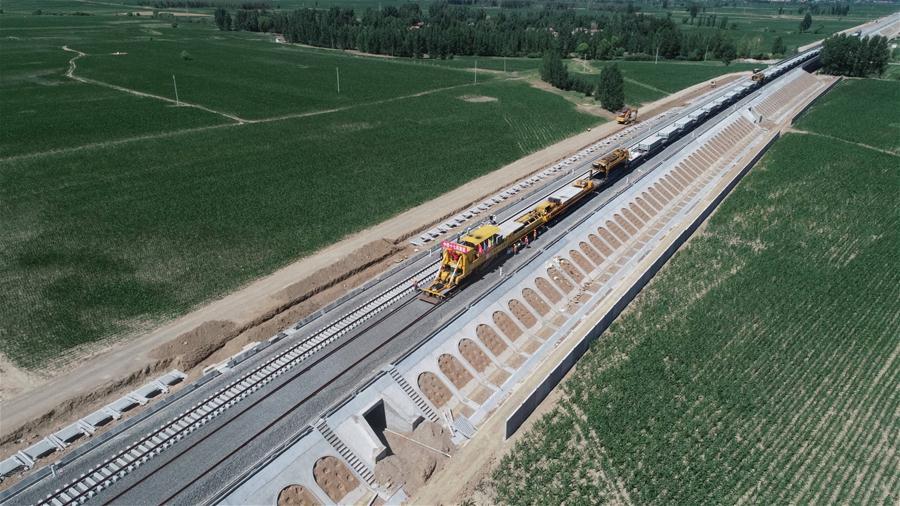 大張高鐵山西段建設有序推進