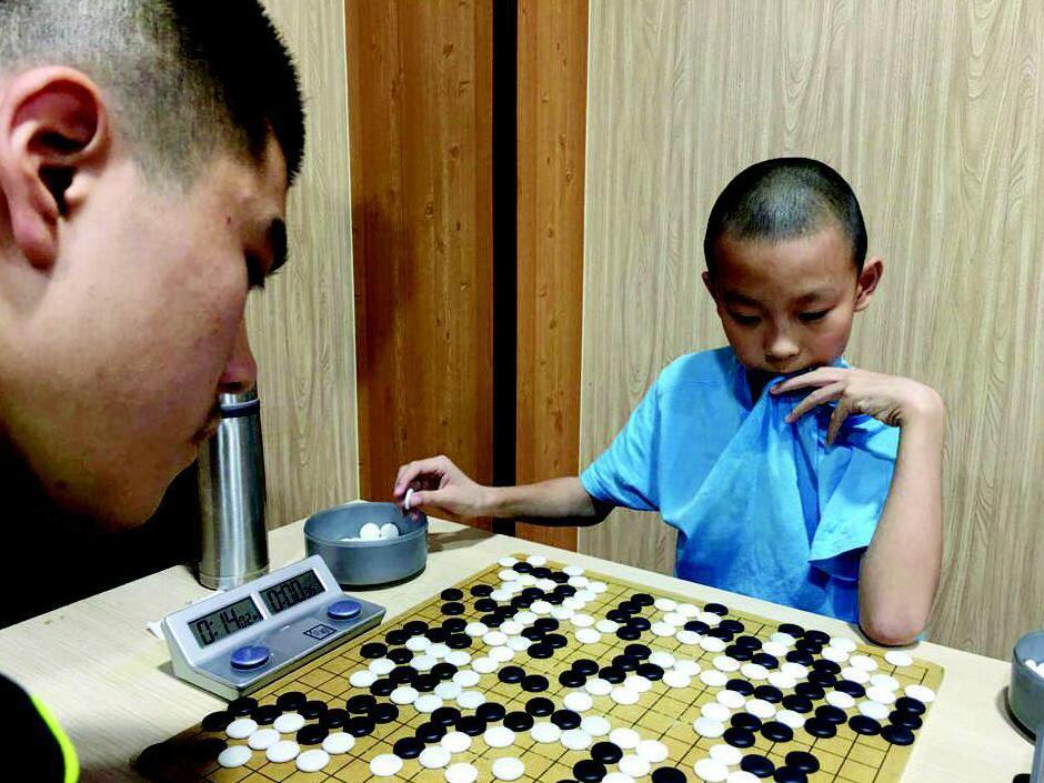 山西省围棋段位王赛 11岁娃娃王成森全胜夺冠