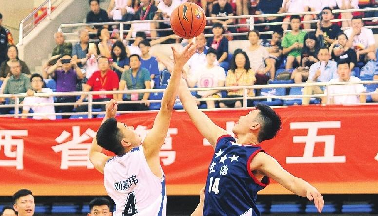 省運會上,太原男女籃雙雙奪冠