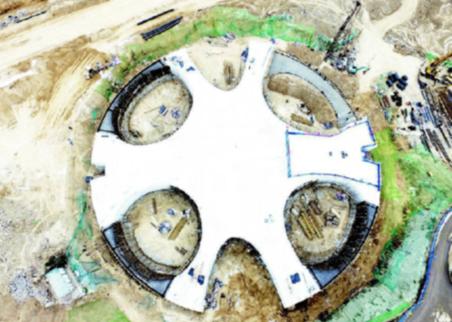 太原動物園新熊貓館主體封頂 面積是原館舍4倍多