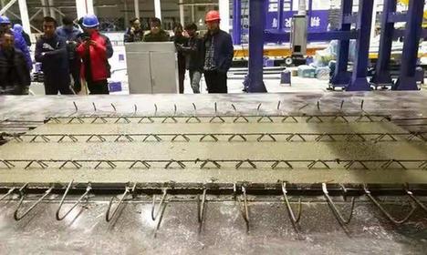 山西建築産業現代化園區首條生産線在晉中投産