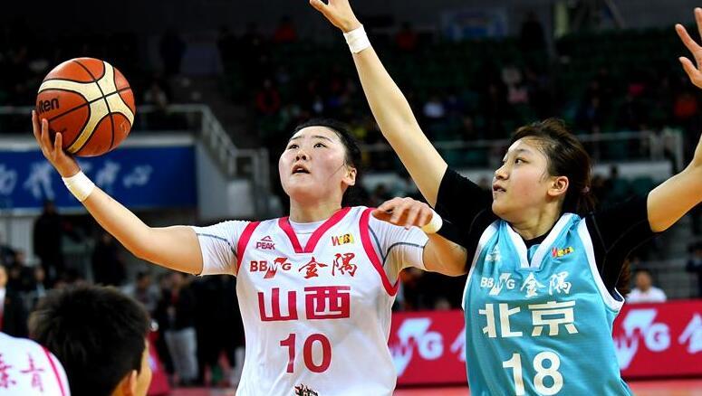 WCBA:北京首鋼勝山西竹葉青
