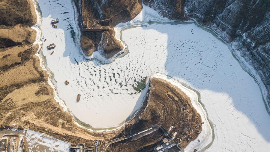 老牛灣雪景