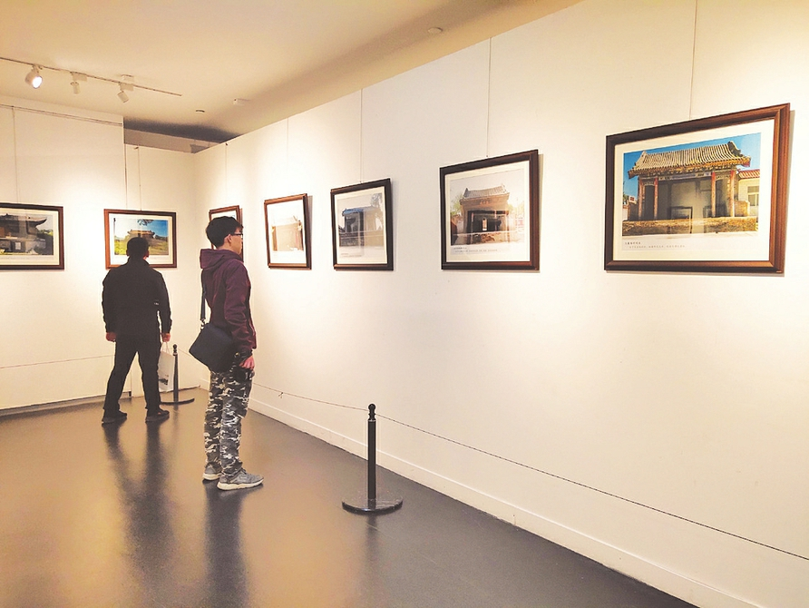 太原美術館展出120幅照片 帶你看陽曲古戲臺