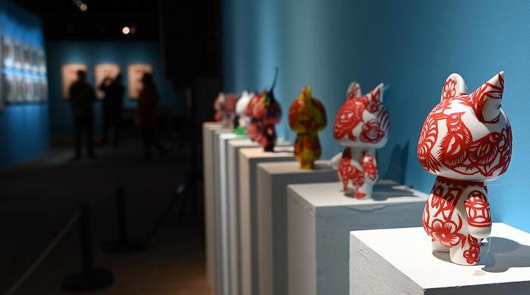 山西靜樂剪紙互動教育巡展在京開幕