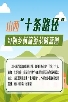 十條路徑 勾勒山西鄉村旅遊戰略藍圖
