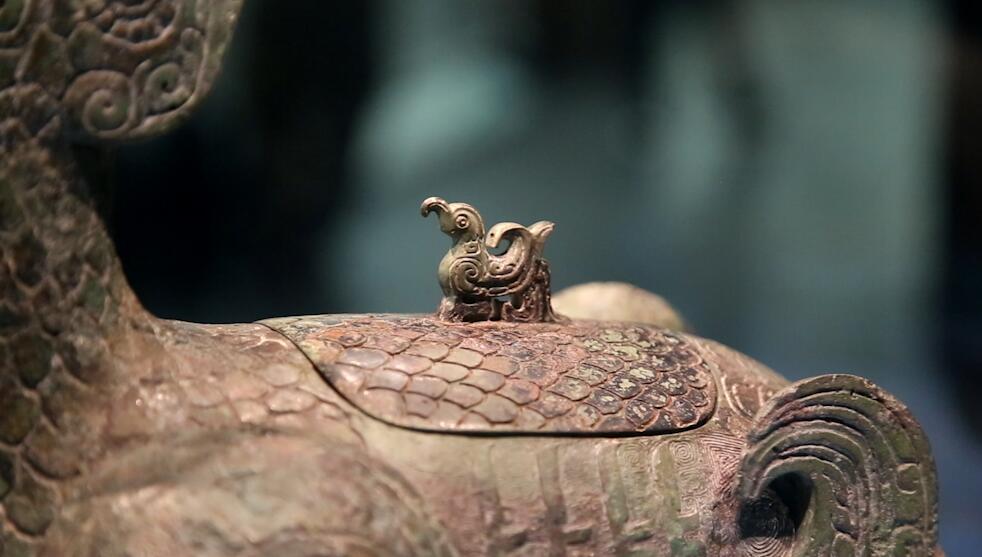 鳥尊是晉文化源頭的象徵和代表。