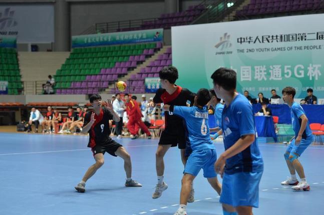 晉中隊在二青會手球比賽中取得社會俱樂部組兩項冠軍
