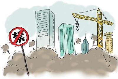 太原多個項目工地治理揚塵不達標被責令整改