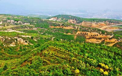 山西:採煤沉陷區變身生態風景