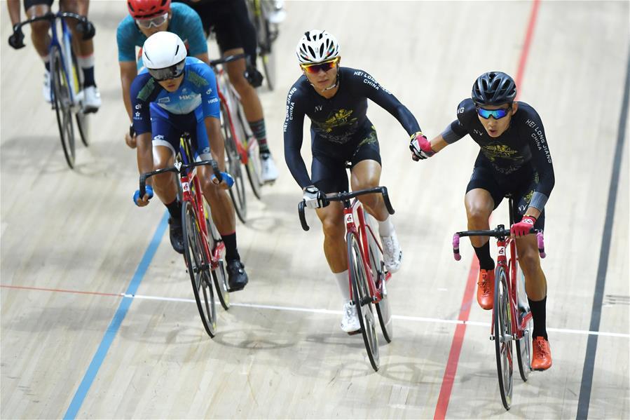 場地自行車體校甲組男子麥迪遜賽