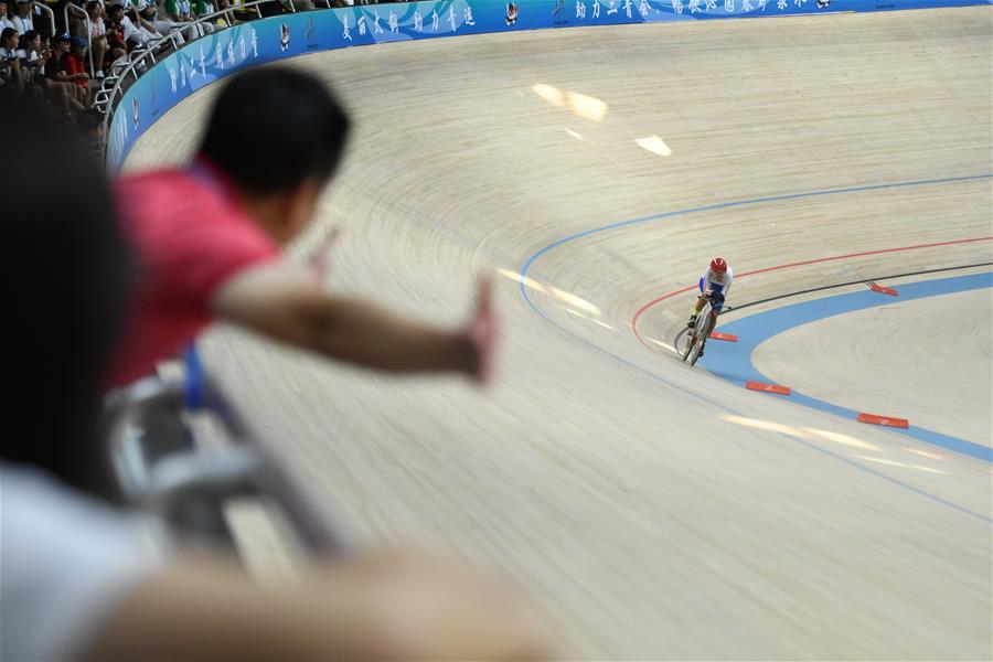 場地自行車體校乙組女子2公裏個人追逐賽