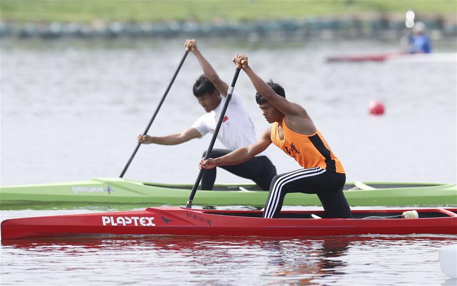 體校組甲組男子1000米單人劃艇