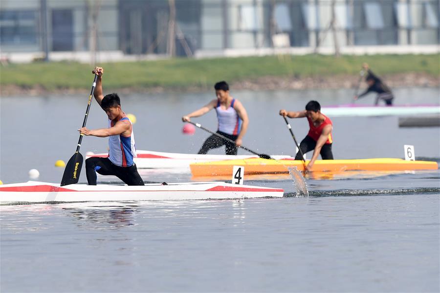 皮劃艇靜水——社會俱樂部組男子1000米單人劃艇決賽賽況