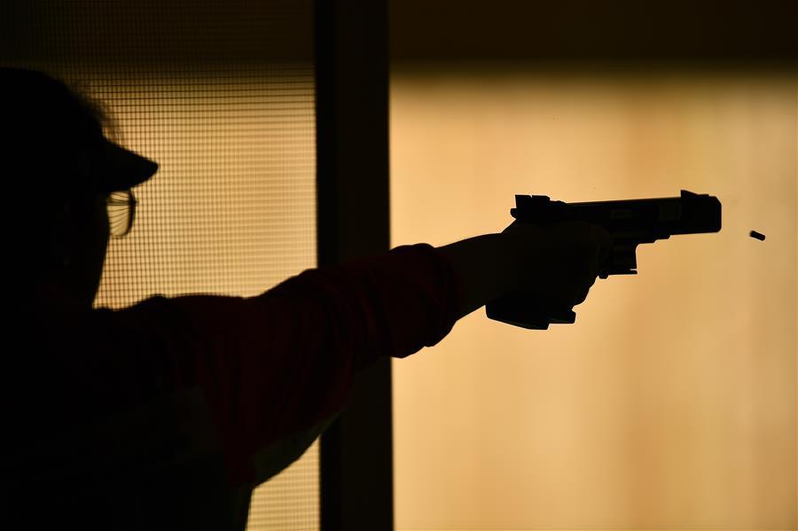 射擊——體校甲組女子25米手槍個人資格賽賽況