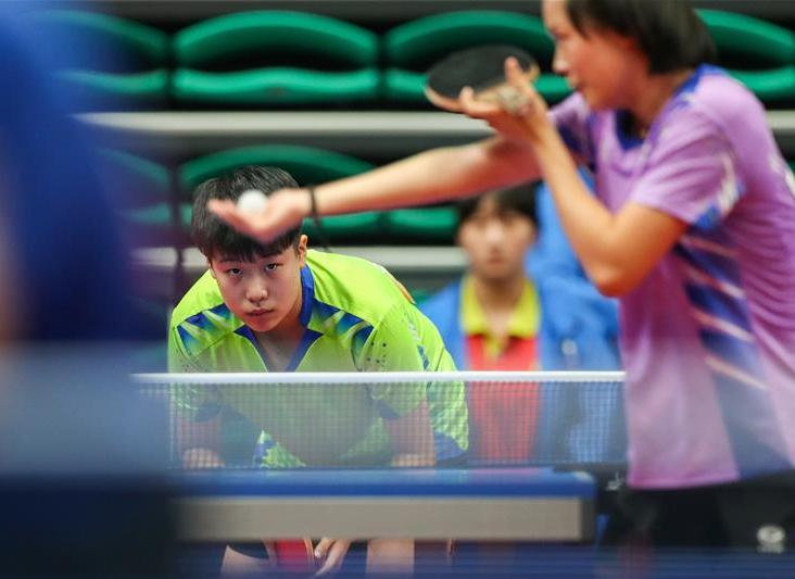 乒乓球——社會俱樂部組女子團體第一階段賽況