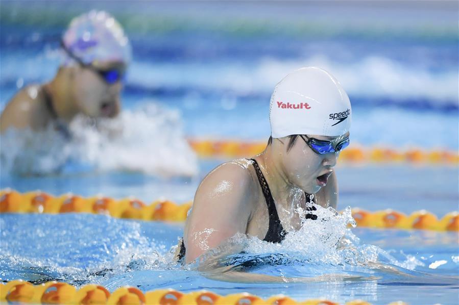 遊泳——體校乙組女子200米個人混合泳決賽賽況