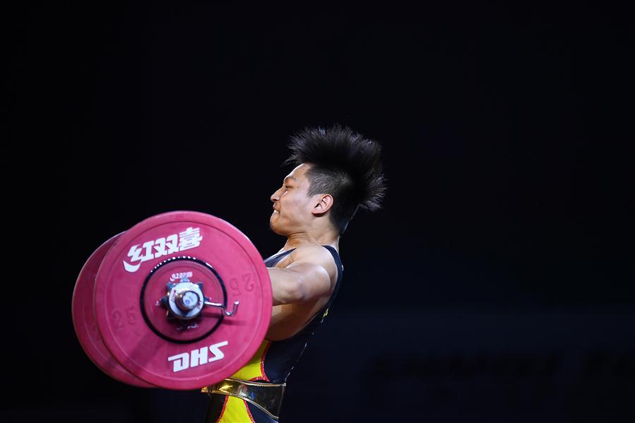 舉重——體校乙組男子73公斤級決賽賽況