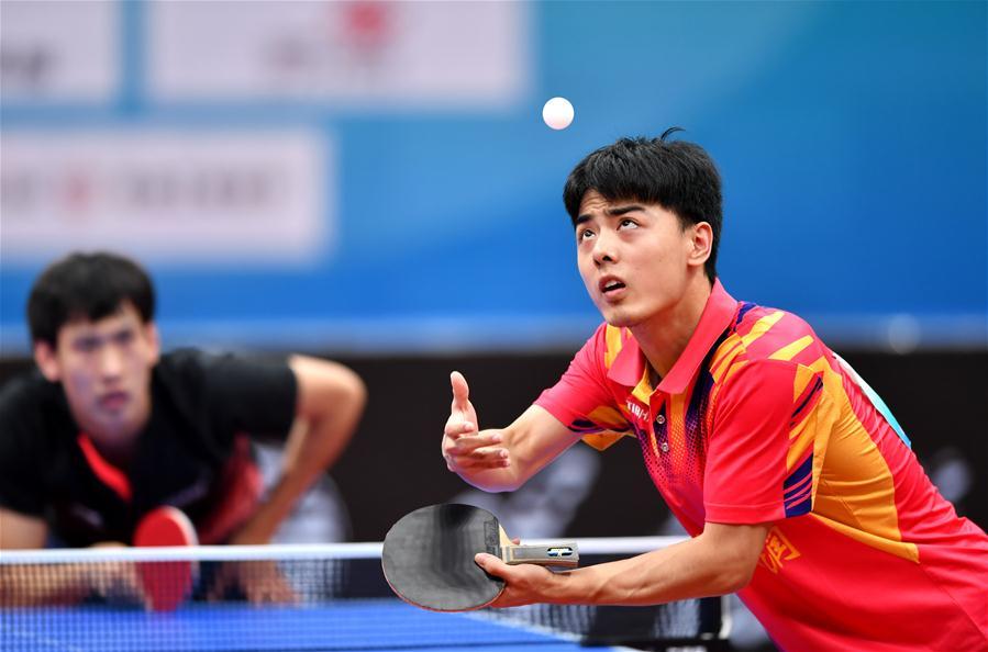 乒乓球——體校甲組男子團體三、四名決賽賽況