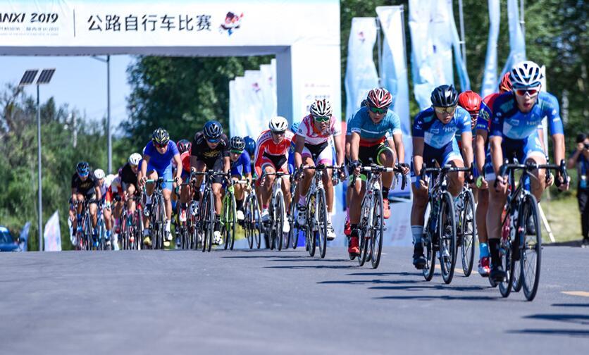 二青會公路自行車比賽落幕