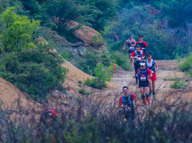 高平市野川鎮舉辦山地越野跑挑戰賽