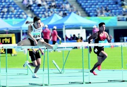 王英昌摘得殘運會山西代表團首金