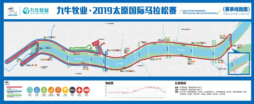 2019太原國際馬拉松賽8日鳴槍