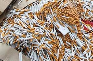 山西臨汾警方偵破一起特大制造假煙案件
