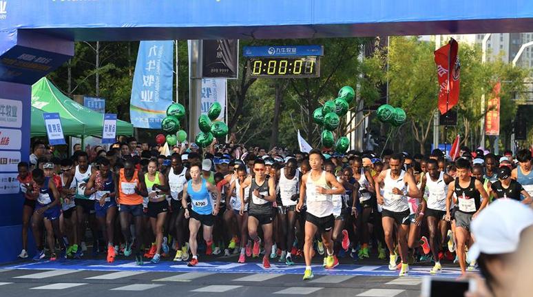馬拉松——2019太原國際馬拉松賽開跑